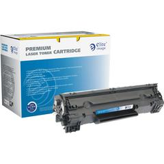 Elite Image Remanufactured Toner Cartridge - Black - Laser - 2400 Page - 1 Each