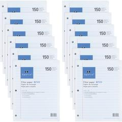 """Sparco 3HP Notebook Filler Paper - 1800 Sheets - College Ruled - 16 lb Basis Weight - 8"""" x 10 1/2"""" - White Paper - 1800 / Bundle"""
