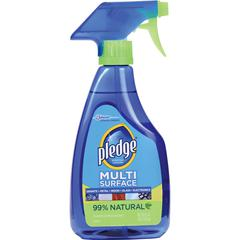 Pledge Multi Surface Everyday Cleaner - Ready-To-Use Spray - 0.13 gal (16 fl oz) - Bottle - 6 / Carton - Clear