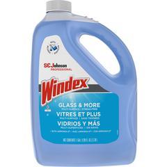 Windex® Glass & Multi-Surface Cleaner - Liquid - 1 gal (128 fl oz) - 1 Each - Blue
