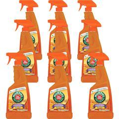 Murphy Oil Soap Wood Cleaner - Ready-To-Use Spray - 0.17 gal (22 fl oz) - Fresh Orange ScentBottle - 9 / Carton - Orange