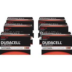 Duracell Quantum AAA Batteries - AAA - Alkaline - 144 / Carton