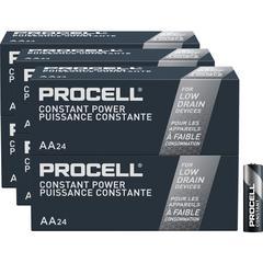 Duracell Procell Alkaline AA Battery - PC1500 - 2100 mAh - AA - Alkaline - 1.5 V DC - 144 / Carton