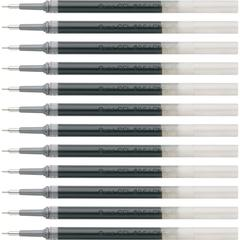 Pentel EnerGel .5mm Liquid Gel Pen Refill - 0.50 mm, Fine Point - Black Ink - Smudge Proof, Smear Proof, Quick-drying Ink, Glob-free, Smooth Writing - 12 / Box