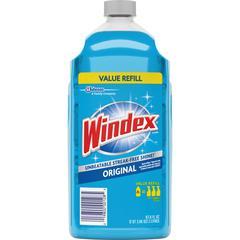 Windex® Glass & Multi-Surface Cleaner - Liquid - 0.53 gal (67.63 fl oz) - Bottle - 1 Each - Blue