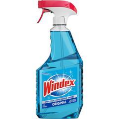 Windex&reg Original Glass Cleaner Spray - Spray - 0.18 gal (23 fl oz) - 8 / Carton - Blue