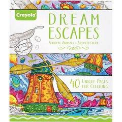 Crayola Dream Escapes Coloring Book - 40 Pages - Multicolor Paper - 1Each