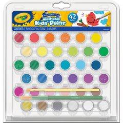 Crayola Washable Kids' Paint Set - 42 / Pack - Assorted