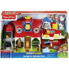 Little People Animals Farm Toy Set - Skill Learning: Discovery, Emotion, Sensory Perception, Motor Skills