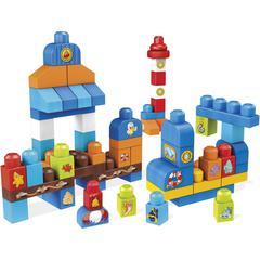 Mega Bloks Island Sailboat Block Building Kit - Theme/Subject: Fun - Skill Learning: Boat, House, Building