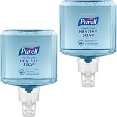 PURELL® ES8 Prof Naturally Clean Foam Soap - 40.6 fl oz (1200 mL) - Dirt Remover, Kill Germs - Skin - Blue - Preservative-free, Paraben-free, Phthalate-free, Dye-free, Hypoallergenic, Bio-based -