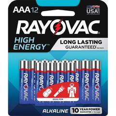 Rayovac Alkaline AAA Batteries - AAA - Alkaline