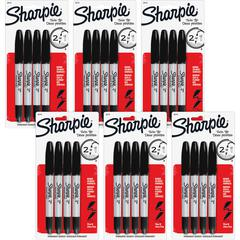 Sharpie Twin Tip Markers - Fine, Ultra Fine Marker Point TypeAlcohol Based Ink - 24 / Bag
