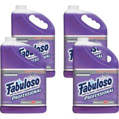 Fabuloso Multi-purpose Cleaner - Liquid - 1 gal (128 fl oz) - Lavender Scent - 4 / Carton - Purple