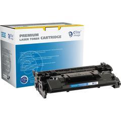 Elite Image Remanufactured Toner Cartridge - Alternative for HP 87A (CF287A) - Black - Laser - 9000 Pages - 1 Each