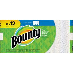 Bounty Select-A-Size Paper Towels - 2 Ply - 83 Sheets/Roll - White - For Kitchen - 664 Quantity Per Carton - 664 / Carton
