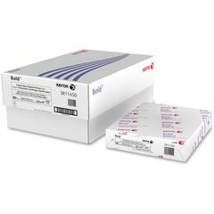 "Xerox Copy & Multipurpose Paper - Letter - 8 1/2"" x 11"" - 80 lb Basis Weight - Glossy, Ultra Smooth - 94 Brightness - 3000 / Carton - White"