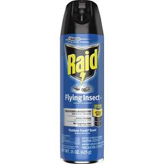 Raid Flying Insect Spray - Spray - Kills Mosquitoes, Flies, Wasp, Hornet, Asian Ladybeetle, Yellow Jacket, Boxelder Bug, Fruit Fly, Gnats, Moths - 15 fl oz - Off White