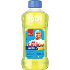 Mr. Clean Antibacterial Cleaner - Liquid - 0.22 gal (28 fl oz) - Summer Citrus Scent - 1 Bottle - Yellow