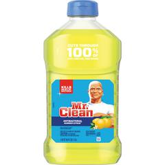 Mr. Clean Antibacterial Cleaner - Liquid - 0.35 gal (45 fl oz) - Summer Citrus Scent - 1 Bottle - Yellow