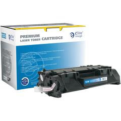 Elite Image Remanufactured Toner Cartridge - Alternative for HP 05A (CE505A) - Black - Laser - Extended Yield - 5000 Pages - 1 Each
