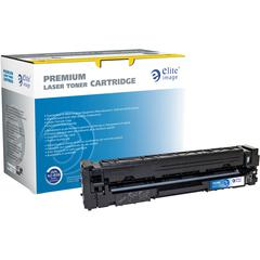 Elite Image Remanufactured Toner Cartridge - Alternative for HP 201A (CF401A) - Cyan - Laser - 1400 Pages - 1 Each