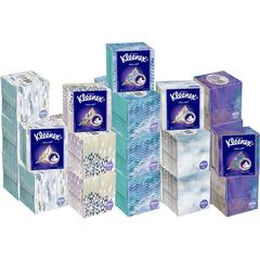 """Kleenex Ultra Soft Tissues - 3 Ply - 8.25"""" x 8.40"""" - White - Soft, Strong - For Home - 65 / Carton"""