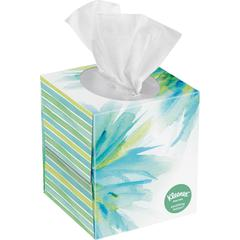 """Kleenex Soothing Lotion Tissues - 8.20"""" x 8.40"""" - White - Soft - For Hand Quantity Per Box - 65 / Each"""