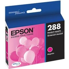 Epson DURABrite Ultra 288 Original Ink Cartridge - Magenta - Inkjet - Standard Yield - 165 Pages