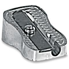 Thimble Size Pencil Sharpener - Handheld - 1 Hole(s) - Metallic Silver