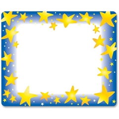 "Trend Star Bright Name Tag - 3"" Length x 2.50"" Width - Rectangular - 36 / Pack - Assorted"