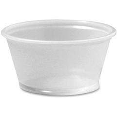 Foods Souffle Cups - 2 fl oz - 2400 / Carton - Translucent - Sauce