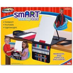 RoseArt Tabletop Smart Art Dry-Erase Easel - Tabletop - 1 Each