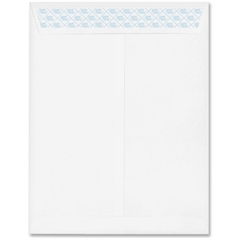 "Security Envelopes w/ SafeSeal - Security - 10"" Width x 13"" Length - 24 lb - Pull & Seal - Wove - 100 / Box - White"