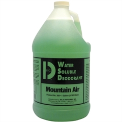 Big-D Water Soluble Deodorant - Concentrate Liquid Solution - 1 gal (128 fl oz) - Mountain Air Scent - 4 / Carton