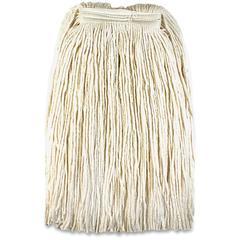 Genuine Joe Mop Head Refill - Rayon, Cotton Fiber, Polyester Fiber