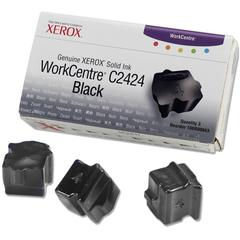 Xerox Solid Ink Stick - Solid Ink - Black - 3 / Pack