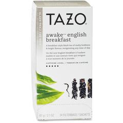 Tazo Black Tea - Black Tea - Awake - 24 Filterbag - 24 / Box