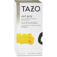 Tazo Black Tea - Black Tea - Earl Grey - 24 Filterbag - 24 / Box