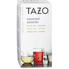 Tazo Flavored Tea - Black Tea, Green Tea, Herbal Tea - Awake, Calm Blend, Earl Grey, China Green, Passion, Refresh, ZEN, Chai - 24 / Box
