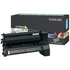 Lexmark Toner Cartridge - Laser - 6000 Pages - Yellow - 1 Each