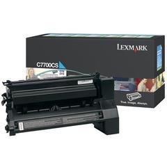 Lexmark Toner Cartridge - Laser - Standard Yield - 6000 Pages - Cyan - 1 Each