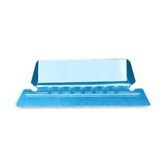 "Smead 64603 Blue Poly Tabs - 5 Tab(s)/Set x 2.25"" Tab Width - Blue Vinyl Tab - 25 / Pack"