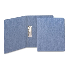 """Smead PressGuard® Report Covers with Fastener - 1/2"""" Folder Capacity - Letter - 8 1/2"""" x 11"""" Sheet Size - 20 pt. Folder Thickness - Pressguard - Blue - Recycled - 1 Each"""