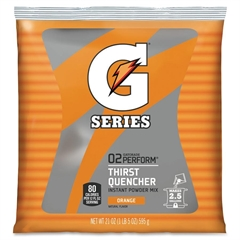 Quaker Oats Gatorade Thirst Quencher Mix Pouch - Powder - Orange Flavor - 1.31 lb - 2.50 gal Maximum Yield - 1 / Pack