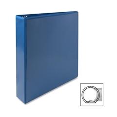 "Premium Round Ring View Binder - 1 1/2"" Binder Capacity - Letter - 8 1/2"" x 11"" Sheet Size - 3 x Round Ring Fastener(s) - 2 Internal Pocket(s) - Polypropylene - Light Blue - 1 Each"