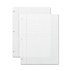 """Sparco Standard White Filler Paper - 150 Sheets - Printed - 16 lb Basis Weight - 8"""" x 10.50"""" - White Paper - 150 / Pack"""