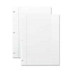 "Sparco Standard White Filler Paper - 200 Sheets - Printed - 16 lb Basis Weight - 8"" x 10.50"" - White Paper - 200 / Pack"