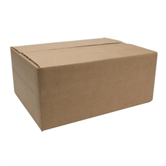"""Sparco Corrugated Shipping Carton - External Dimensions: 11.8"""" Width x 8.8"""" Depth x 4.8"""" Height - Kraft - Recycled - 25 / Pack"""