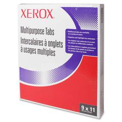 Xerox Revolution Tabs - 3 Hole Punched - White Divider - 250 / Pack